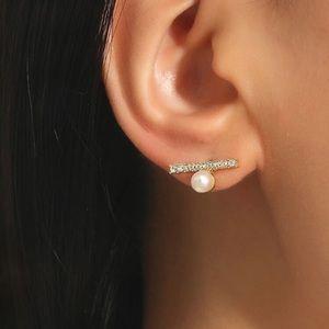 Pearl Earring Set
